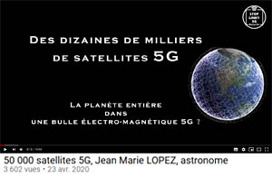 les satellites 5G